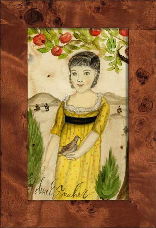 NA Girl under Apple Tree
