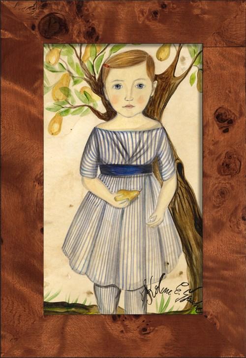 NA Girl under Pear Tree