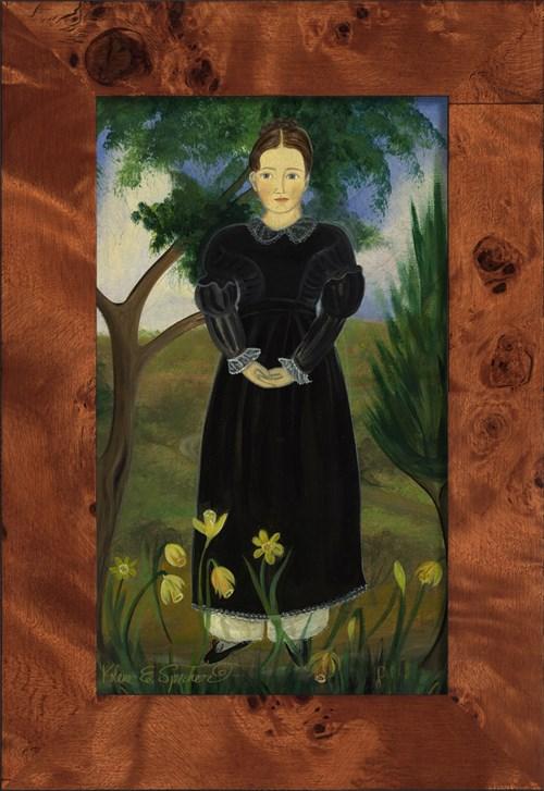 NA Girl in Black Dress