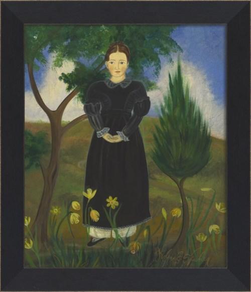 MI Girl in Black Dress