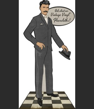 Display Model Gentleman - Pointing Left