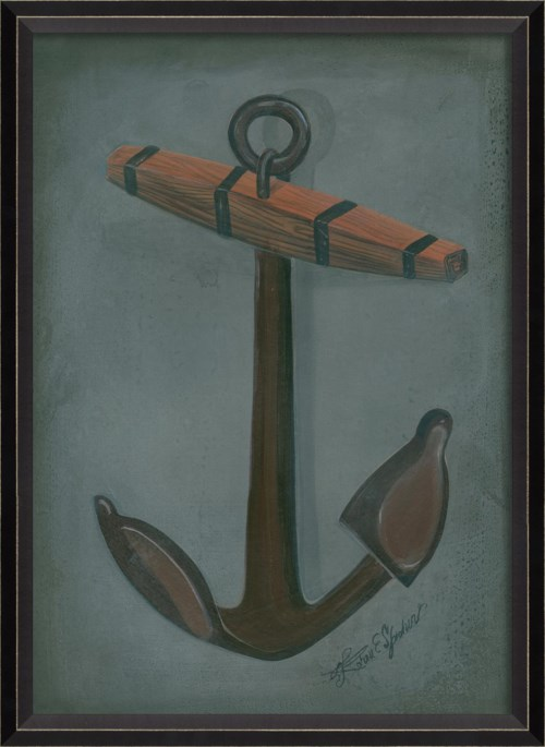 BC Admiralty Pattern Anchor