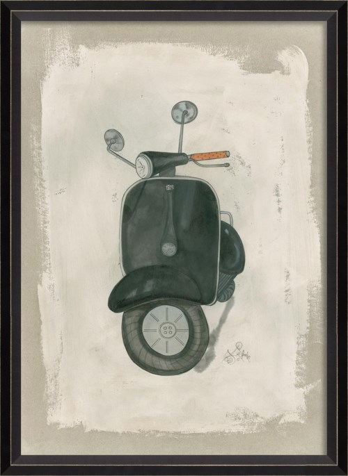 BC Black Scooter