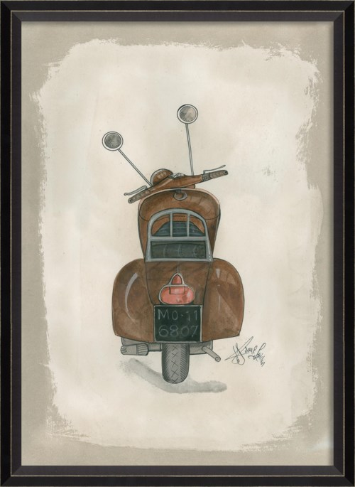 BC Brown Scooter