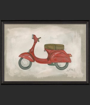 BC Red Scooter
