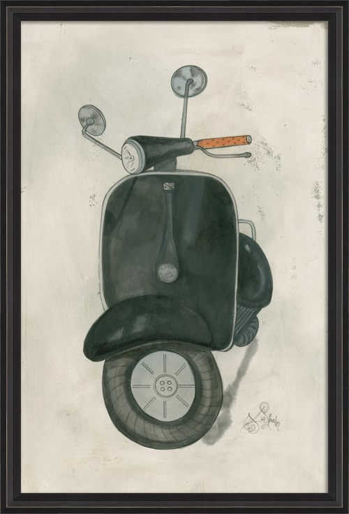BCBL Black Scooter