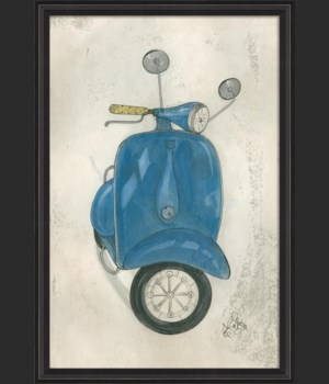BCBL Blue Scooter