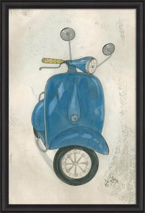 BCBL Blue Scooter