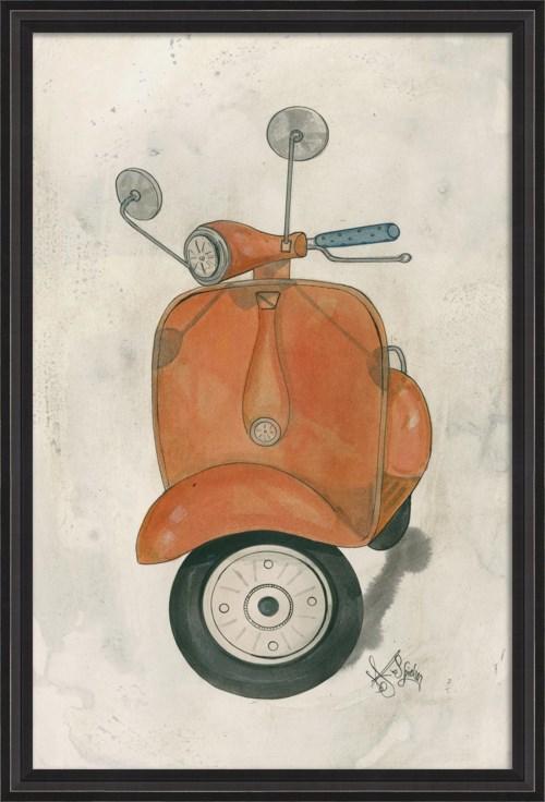 BCBL Orange Scooter