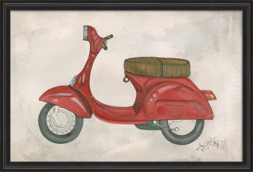 BCBL Red Scooter