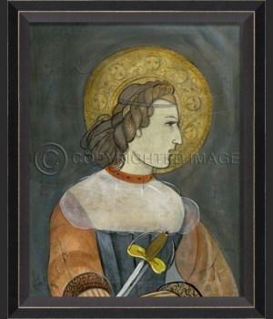 BC Joan of Arc on gray sm