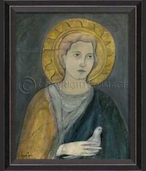 BC Saint Michael on gray sm