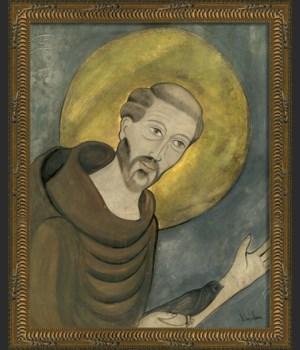 KG Saint Francis on gray sm