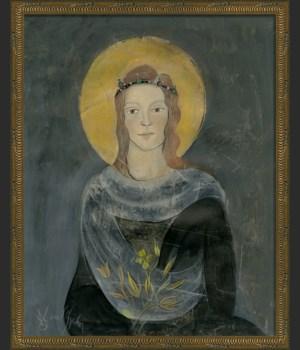 KG Saint Catherine on gray med