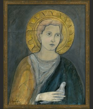 KG Saint Michael on gray med