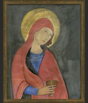 KG Saint Agnes on gray med