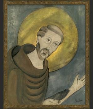 KG Saint Francis on gray med