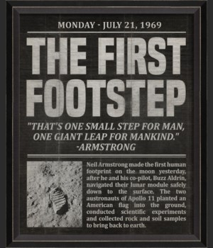 BC The First Footstep black sm