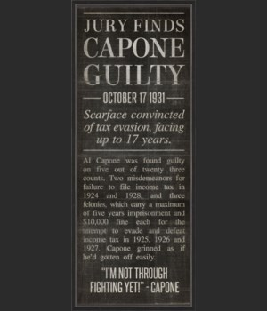 BC Capone Found Guilty black