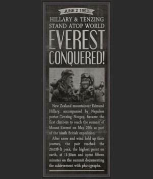 BC Everest Conquered black