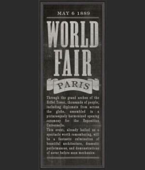 BC World Fair Paris black