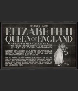 BC Elizabeth II Coronation black