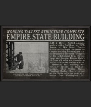 BC Empire State Building Opens black