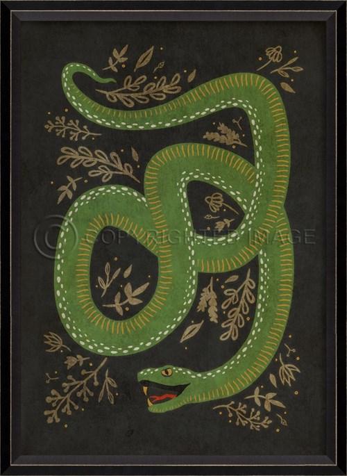 BC The Prosperous Snake on black