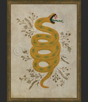 KG Powers of the Earth Snake on white
