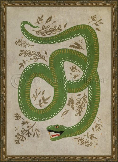 KG The Prosperous Snake on white