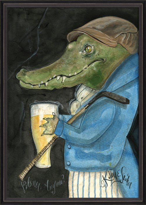 BC Alligator Gunther the Golfer lg