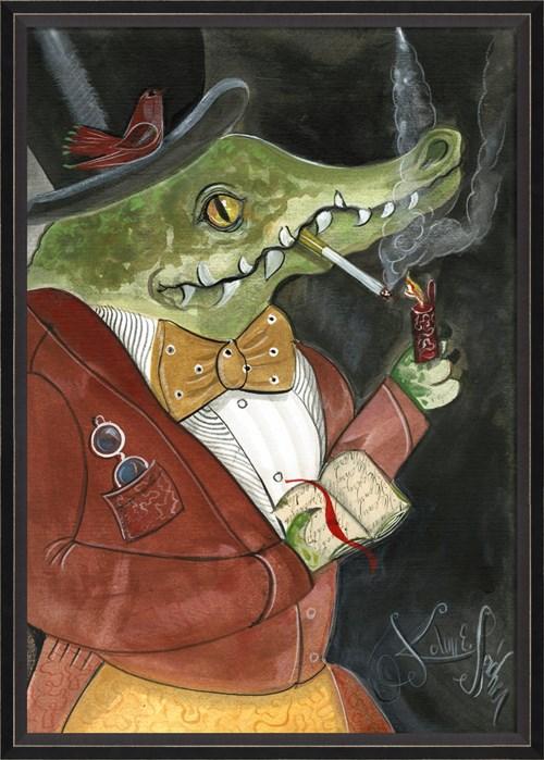BC Alligator Stanley the Scholar lg