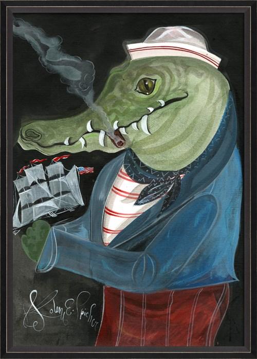 BC Alligator Sully the Sailor lg