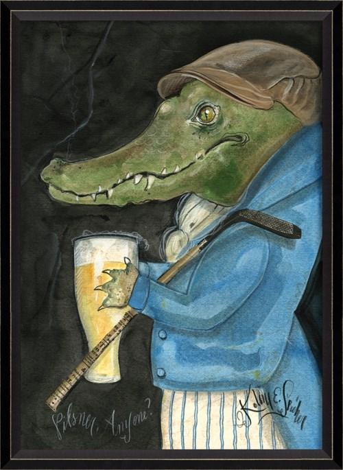 BC Alligator Gunther the Golfer md