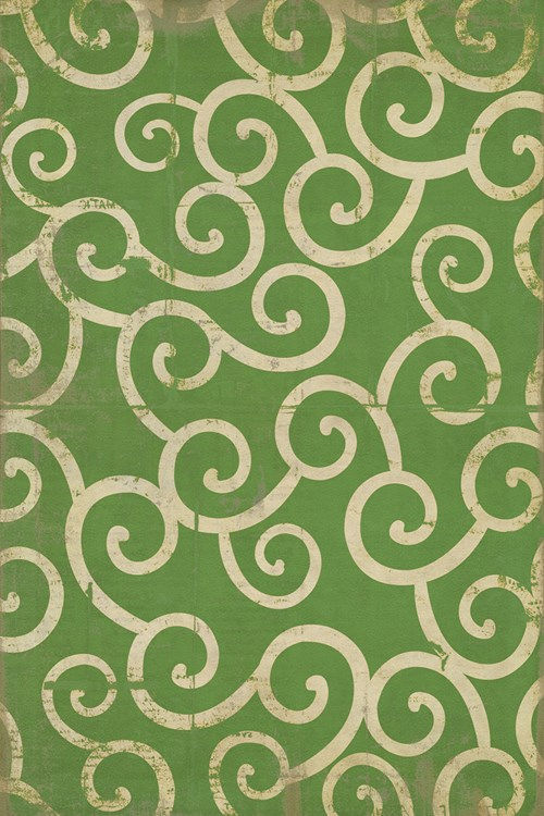 Pattern 04 The Sea of Green 20x30