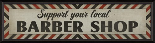 BC Support Your Local Barber Shop