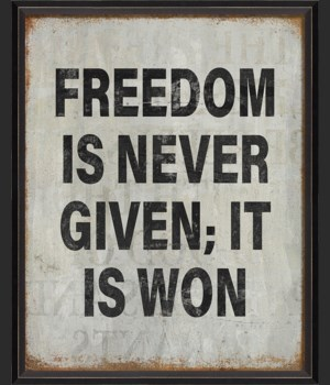 BC Freedom is Never Given