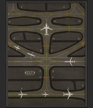 BC CLT Airport Runway