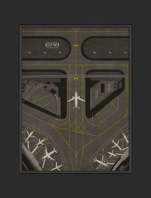 BC DFW Airport Runway