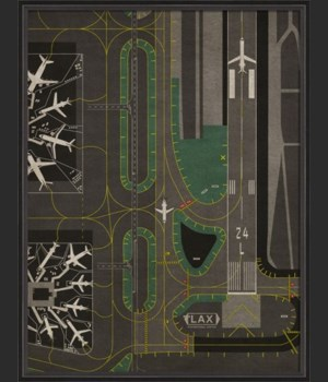BC LAX Airport Runway