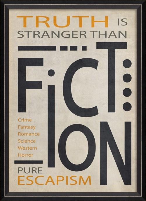 BC Fiction Poster Black on White sm