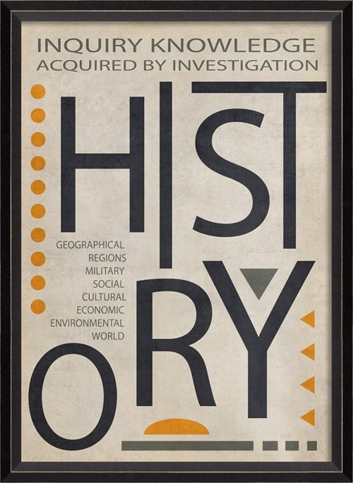 BC History Poster Black on White sm