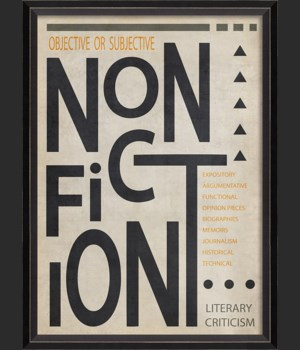 BC NonFiction Poster Black on White sm