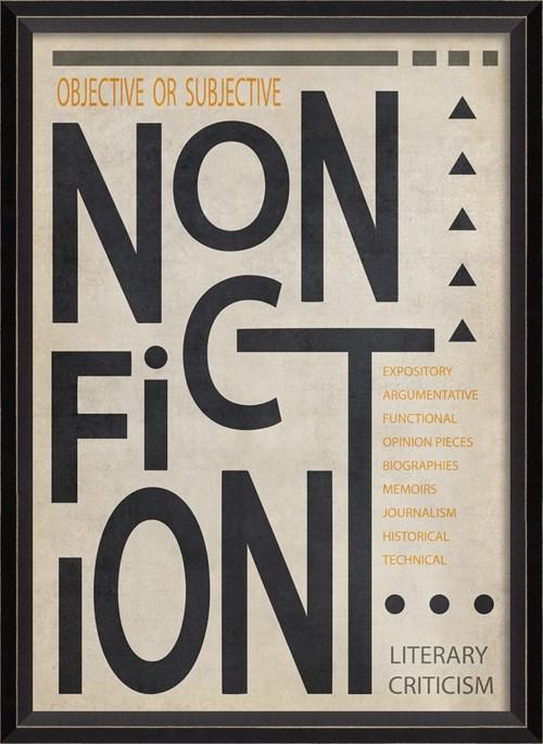 BC NonFiction Poster Black on White sm