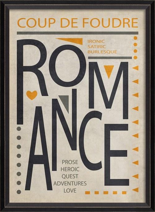 BC Romance Poster Black on White sm