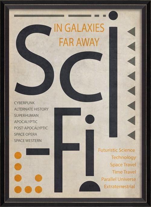 BC SciFi Poster Black on White sm