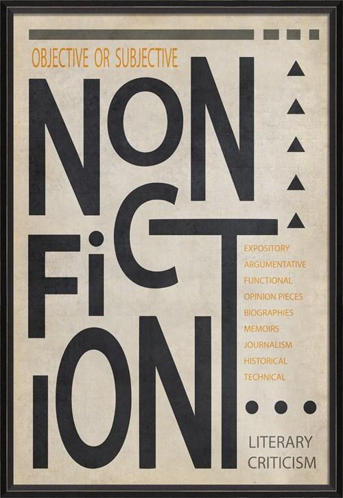 BC NonFiction Poster Black on White lg