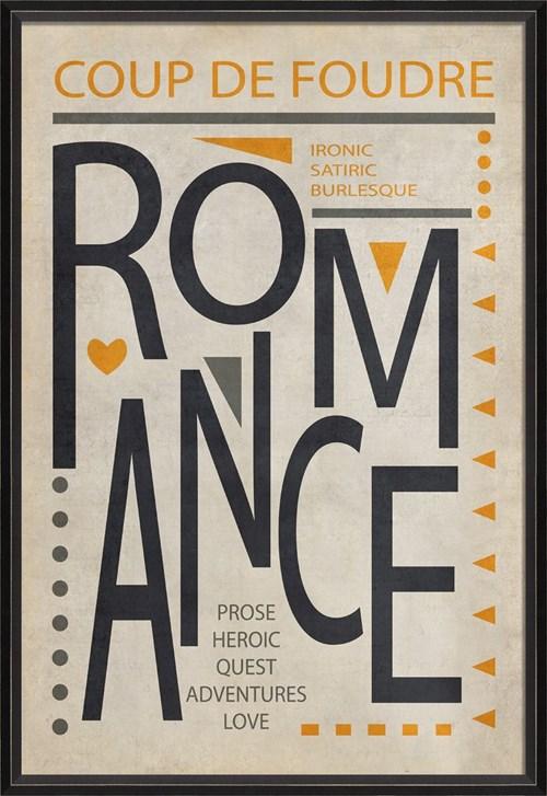 BC Romance Poster Black on White lg