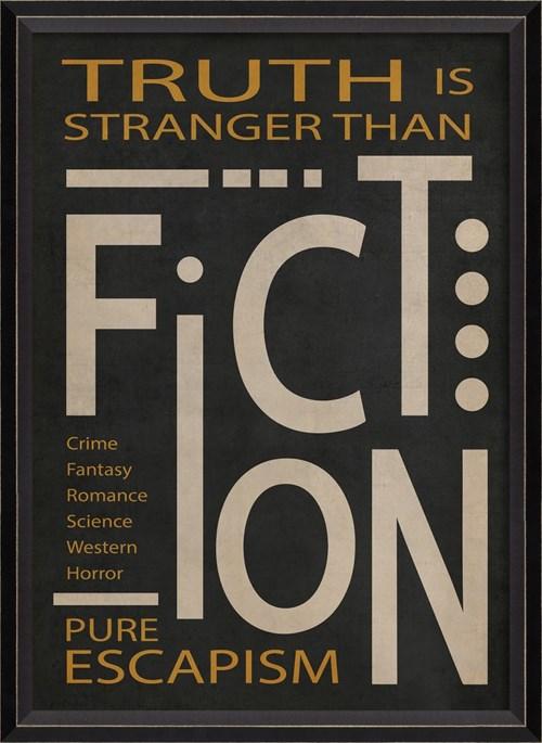 BC Fiction Poster White on Black sm