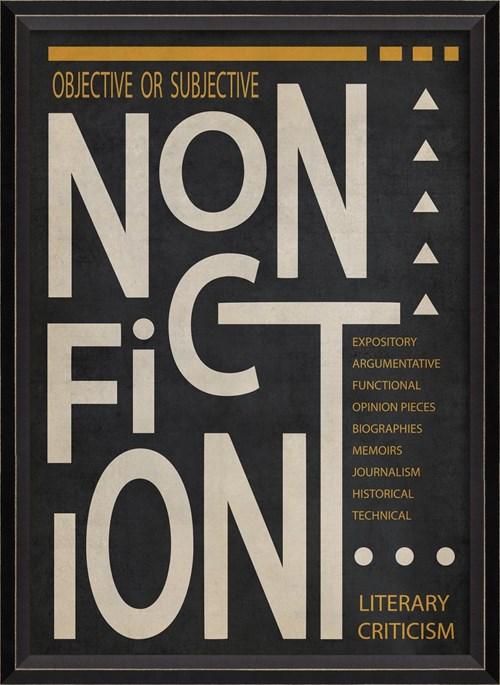 BC NonFiction Poster White on Black sm